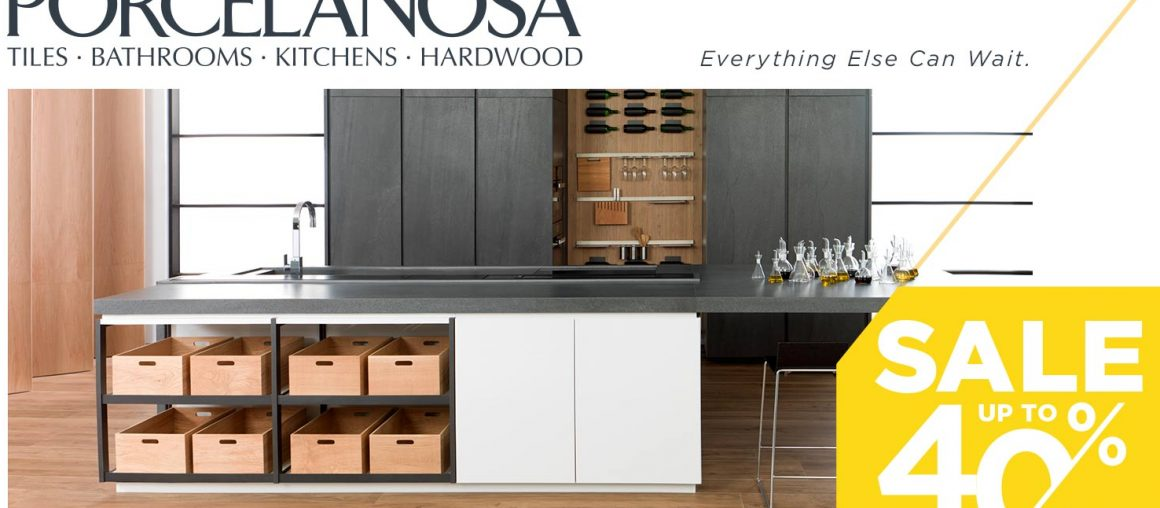 Porcelanosa up to 40% Off Sale