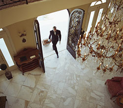Making a Grand Entrance: the Latest Trends in Hallway Tiles