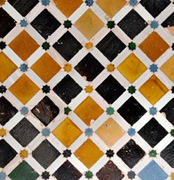 The Moorish-ness of Patterned Tiles