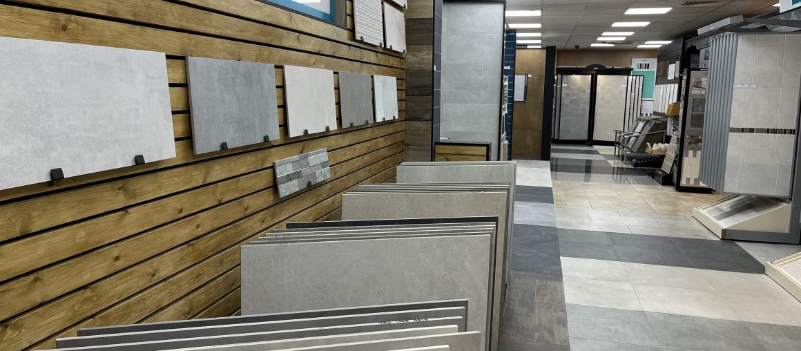 New Updated Ceramic Tile Warehouse Showroom
